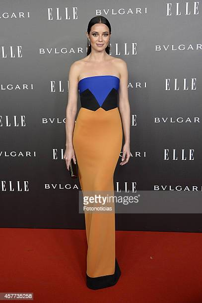 Dafne Fernandez attends the Elle Style Awards party at the Italian Embassy on October 23 2014 in Madrid Spain