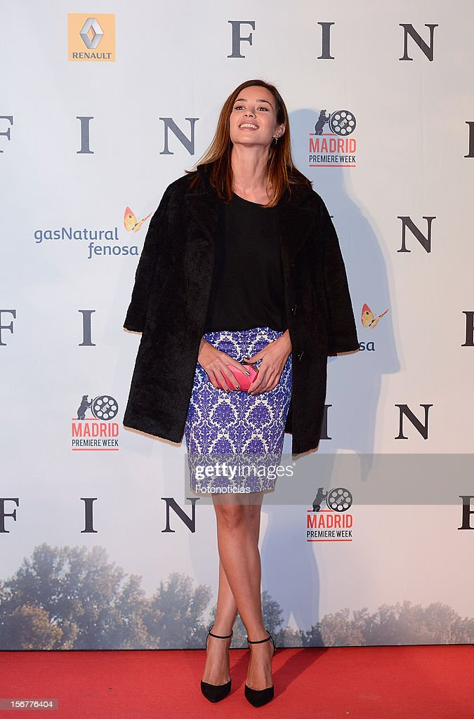 Dafne Fernandez attends the premiere of 'Fin' at Callao Cinema on November 20, 2012 in Madrid, Spain.