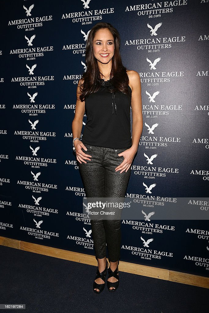 Dafne Molina attends the opening of the American Eagle Mexico City store at Centro Comercial Perisur on February 19, 2013 in Mexico City, Mexico.