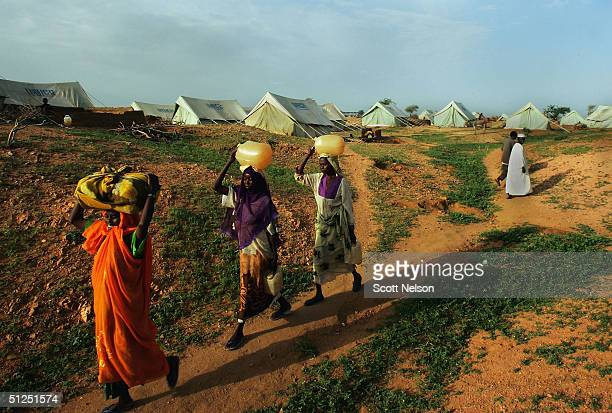Dafur Refugees Overwhelm Camps In Chad