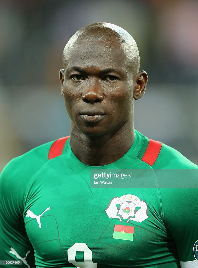 Dagano Moumouni of Burkina Faso during the 2013 Africa Cup of Nations Quarter-Final match between Burkina Faso and Togo at the Mbombela Stadium on February 3, 2013 in Nelspruit, South Africa.