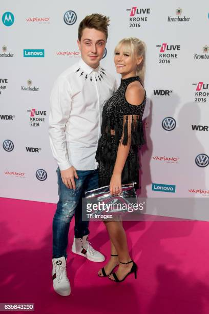 Dagi Bee attend the 1Live Krone at Jahrhunderthalle on December 1 2016 in Bochum Germany