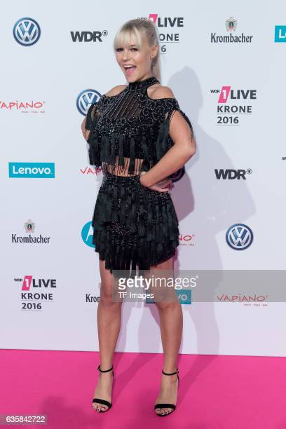 Dagi Bee attends the 1Live Krone at Jahrhunderthalle on December 1 2016 in Bochum Germany