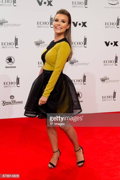 Dagi Bee on the red carpet during the ECHO German Music Award in Berlin Germany on April 06 2017