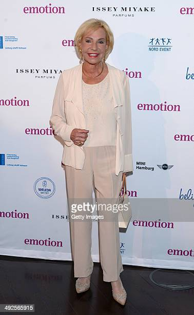 Dagmar Berghoff attends Emotion Award 2014 at Emporio Tower on May 20 2014 in Hamburg Germany