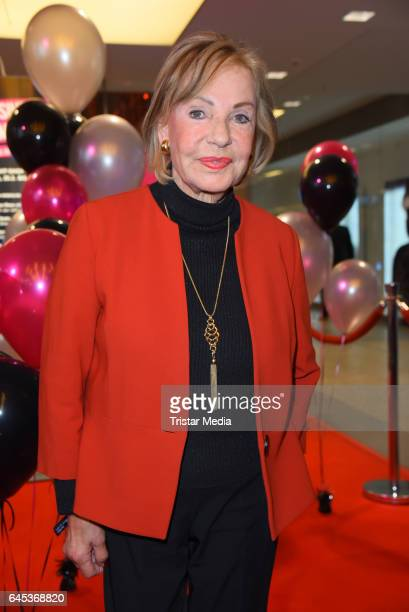 Dagmar Berghoff attends the late night shopping party on February 25 2017 in Hamburg Germany