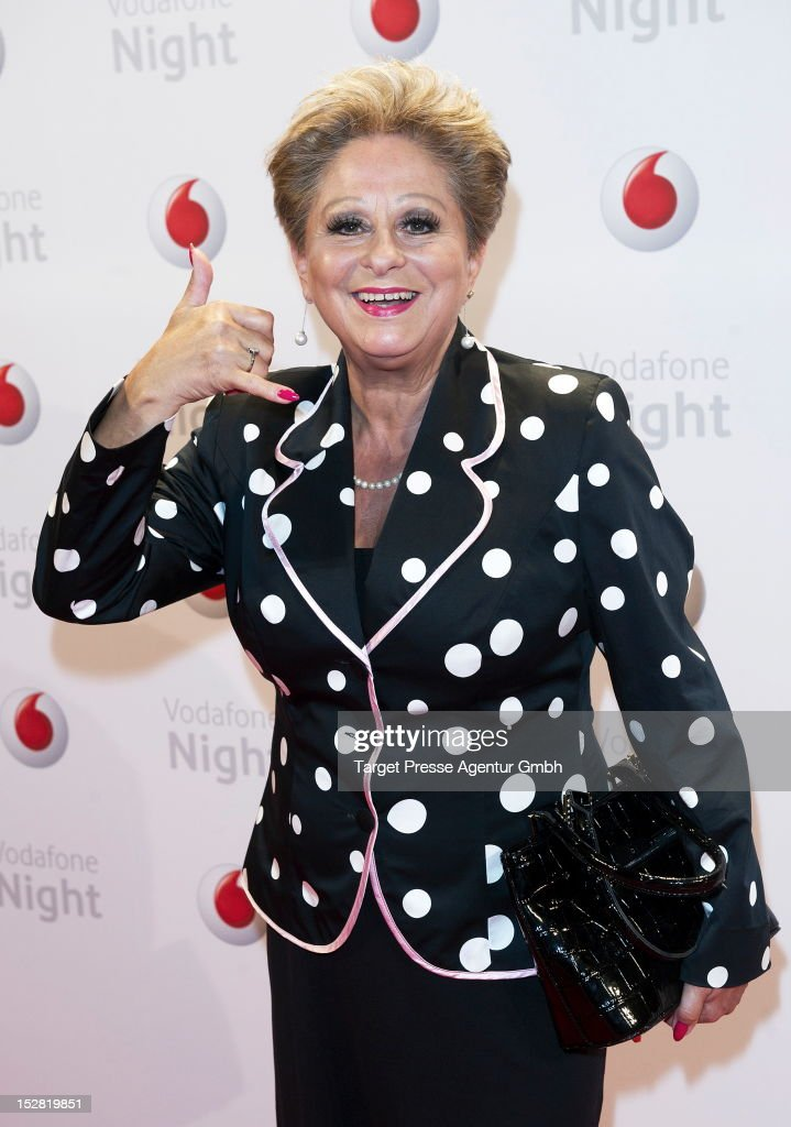 Dagmar Frederic attends the Vodafone Night at Hotel de Rome on September 26, 2012 in Berlin, Germany.