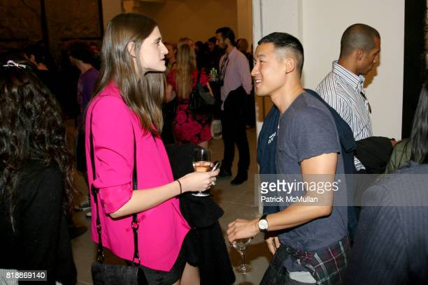 Daiane Conterato and Richard Ai attend 'The Transformation of ENRIQUE MIRON as El Diablo' by PAUL ROWLAND at 548 W 22nd St on April 29 2010 in New...