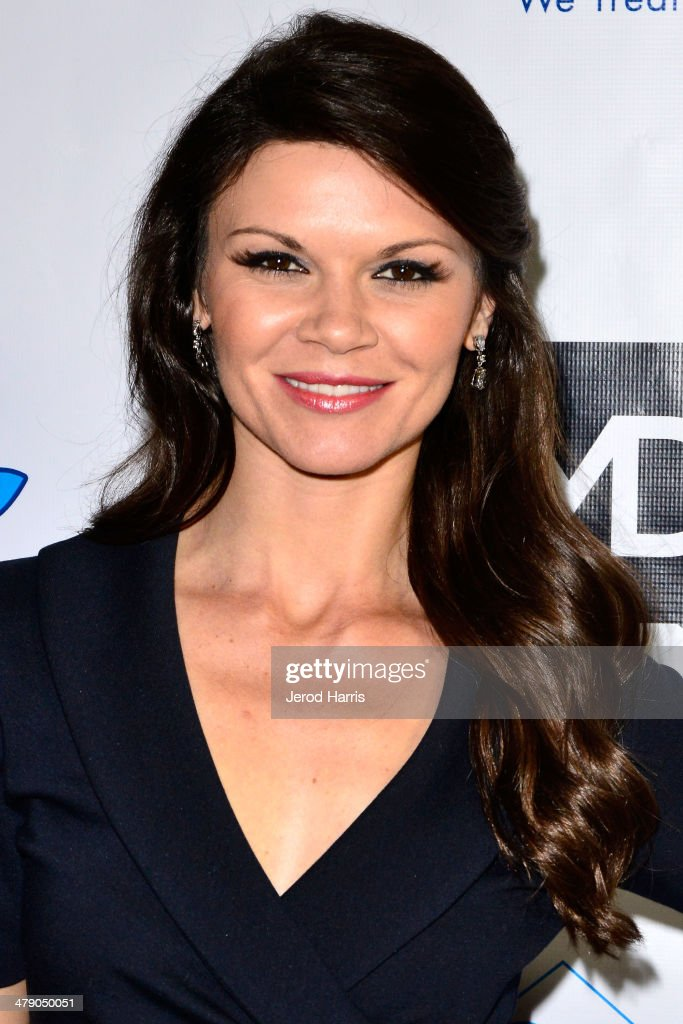 Daielle Vasinova arrives at the Dream Builders Project's 'A Brighter Future For Children' benefit at H.O.M.E. on March 15, 2014 in Beverly Hills, California.