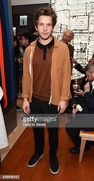 Daien Molony attends John Smedley store launch on June 13 2016 in London England