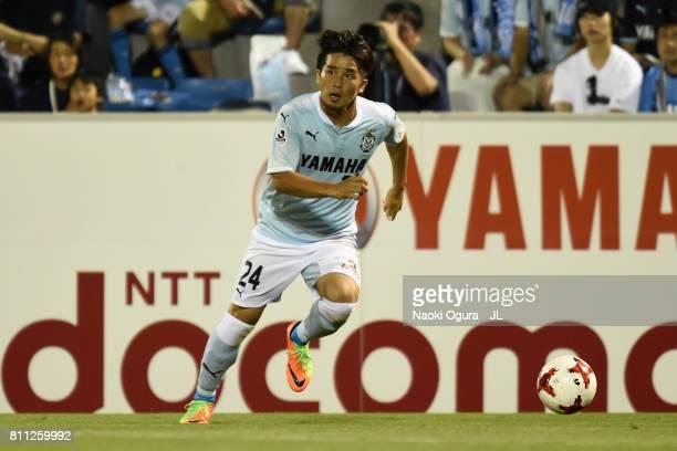 Daiki Ogawa of Jubilo Iwata in action during the JLeague J1 match between Jubilo Iwata and Ventforet Kofu at Yamaha Stadium on July 8 2017 in Iwata...