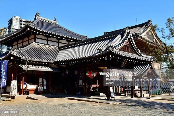 Daikoku-do of Shitenno-ji Temple, Osaka, Japan
