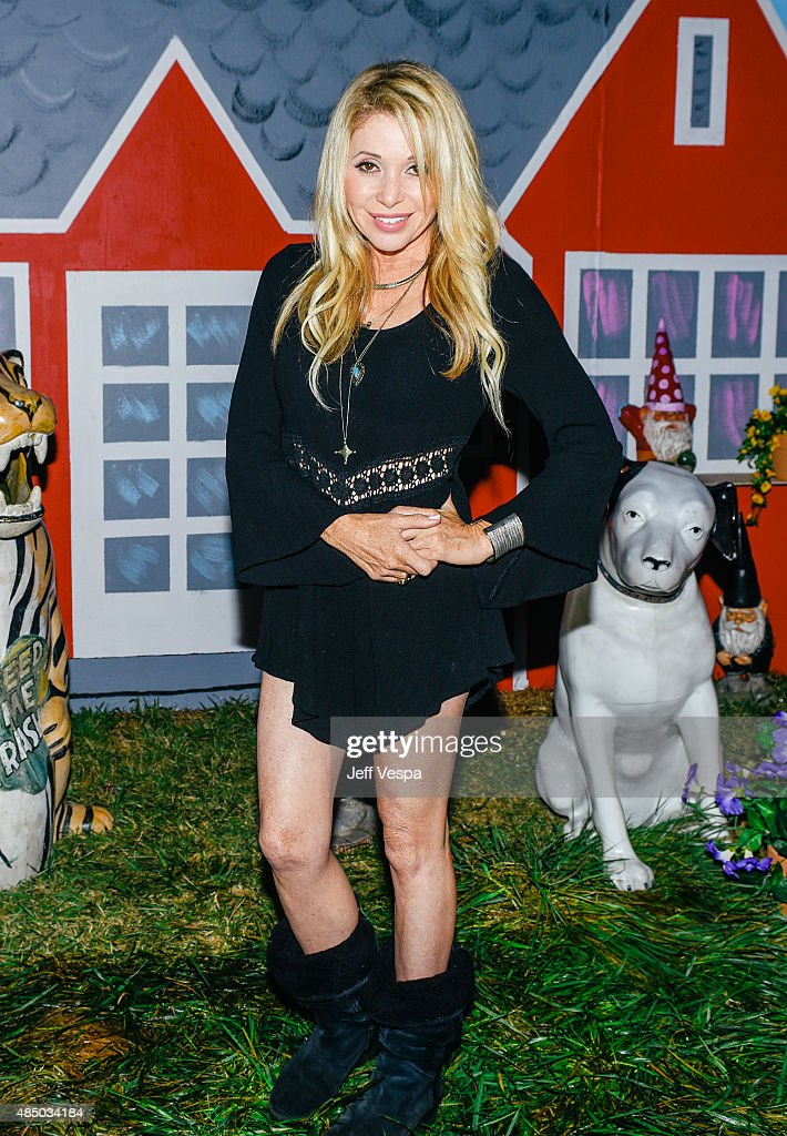 E.G. Daily attends Pee-wee's Big Adventure 30th anniversary screening at Hollywood Forever on August 22, 2015 in Hollywood, California.