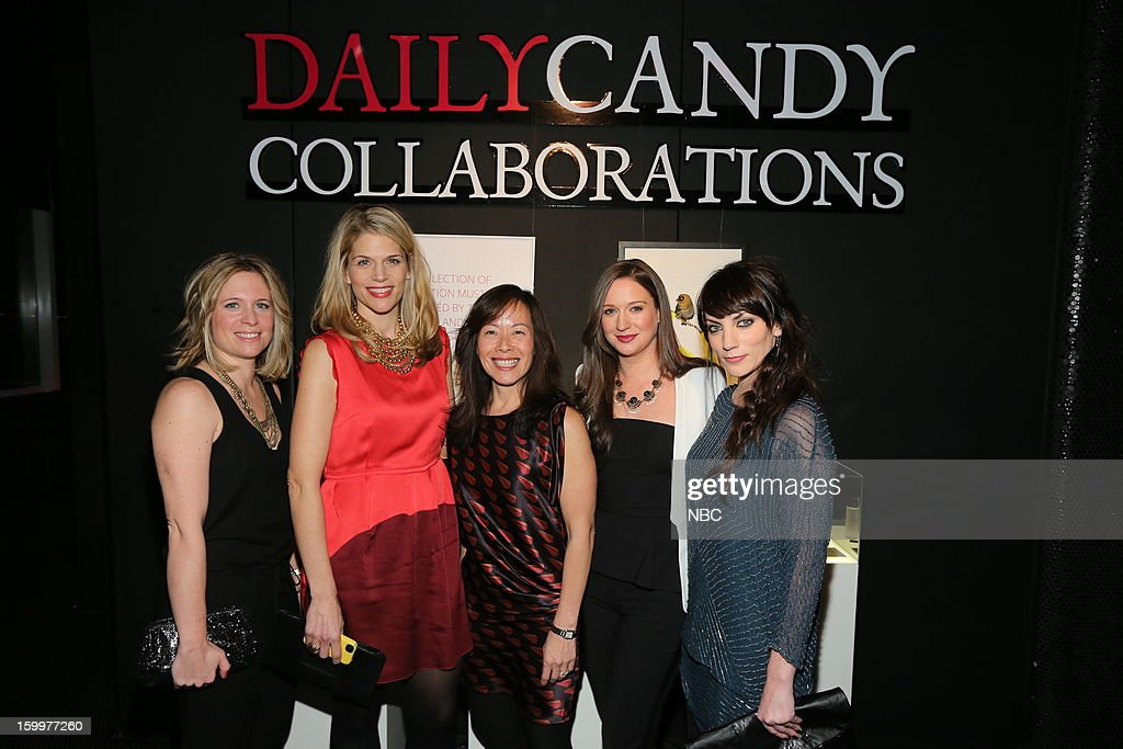 CANDY -- 'Daily Candy Collaborations' at Le Bain in New York City on Wednesday, January 23, 2013 -- Pictured: (l-r) Alison Moore, General Manager, DailyCandy; Joy Wheeler, VP, Commerce, DailyCandy; Ashley Parrish, Editor in Chief, DailyCandy; Kelly Bracher, Vice Presdient, Online Merchandising, DailyCandy --