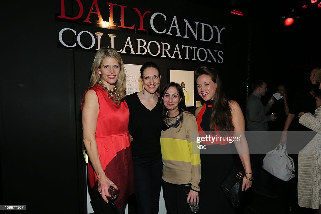 CANDY -- 'Daily Candy Collaborations' at Le Bain in New York City on Wednesday, January 23, 2013 -- Pictured: (l-r) Alison Moore, General Manager, DailyCandy; guests --