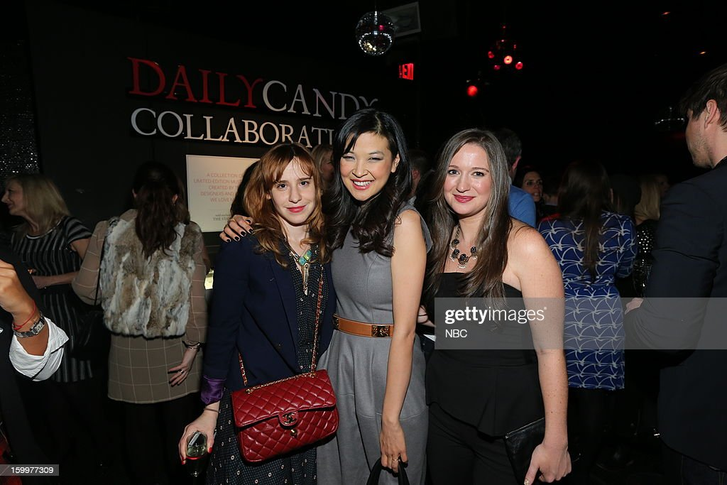 CANDY -- 'Daily Candy Collaborations' at Le Bain in New York City on Wednesday, January 23, 2013 -- Pictured: (l-r) guest, SuChin Pak, Ashley Parrish, Editor in Chief, DailyCandy --
