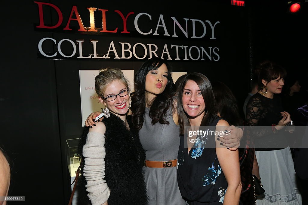 CANDY -- 'Daily Candy Collaborations' at Le Bain in New York City on Wednesday, January 23, 2013 -- Pictured: (l-r) SuChin Pak, Meredith Howard, Vice President, Communications, DailyCandy --