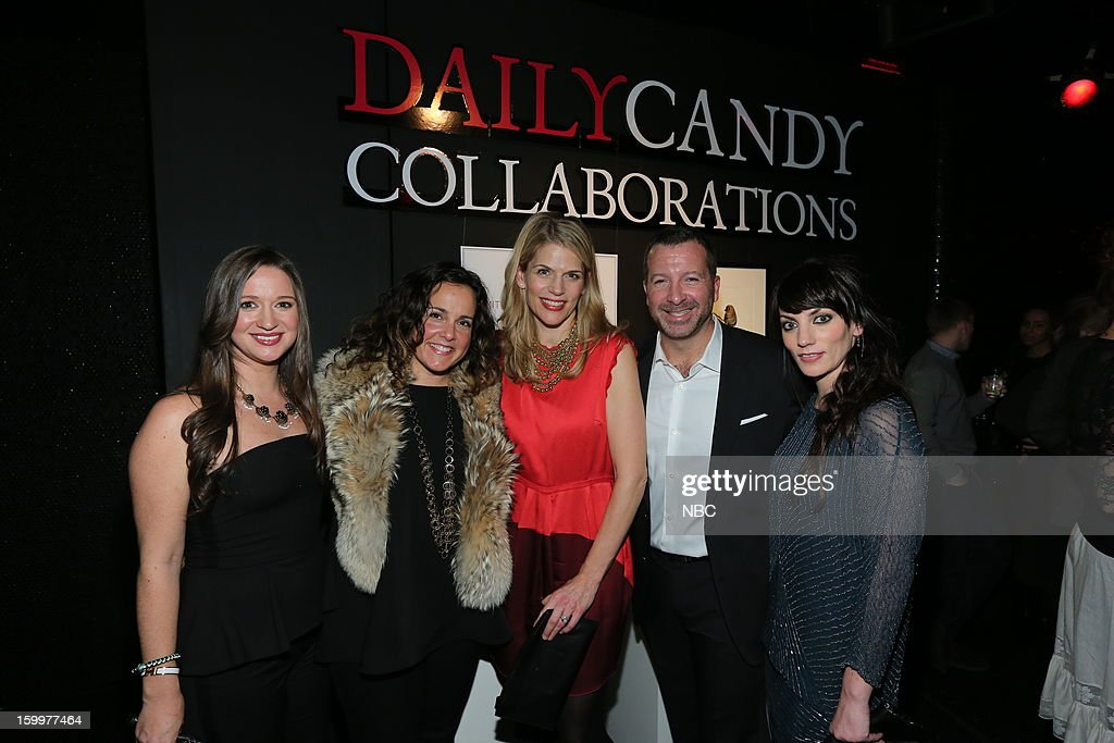CANDY -- 'Daily Candy Collaborations' at Le Bain in New York City on Wednesday, January 23, 2013 -- Pictured: (l-r) Ashley Parrish, Editor in Chief, DailyCandy; Melissa Joy Manning, Design Collaborator; Alison Moore, General Manager, DailyCandy; Nick Lehman, President, Digital Media, Entertainment & Digital Networks, NBCUniversal; --