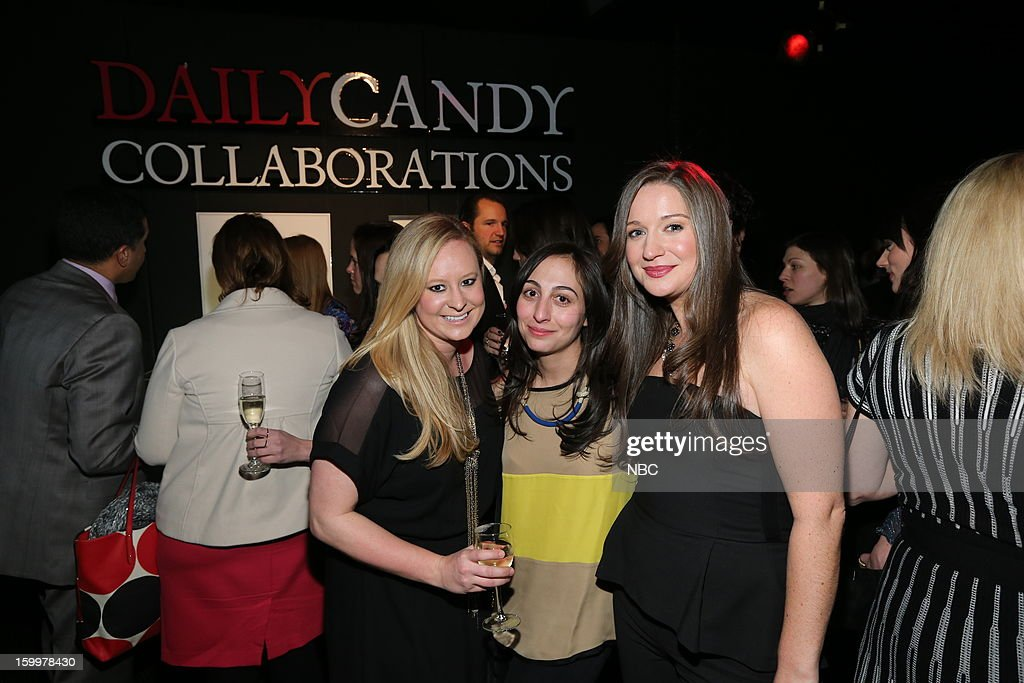 CANDY -- 'Daily Candy Collaborations' at Le Bain in New York City on Wednesday, January 23, 2013 -- Pictured: (l-r) guests, Ashley Parris, Editor in Chief, DailyCandy --
