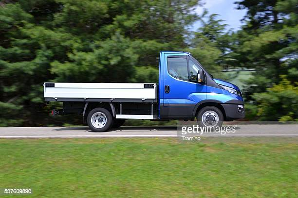 IVECO Daily driving on the street