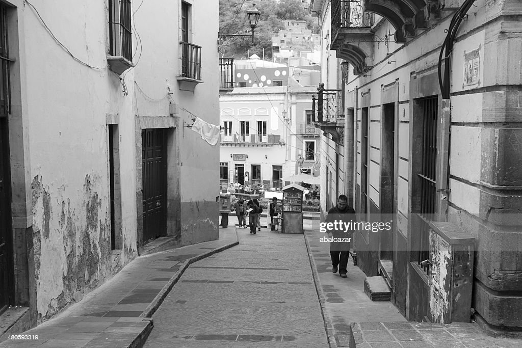 Daily life in Guanajuato : Stock Photo