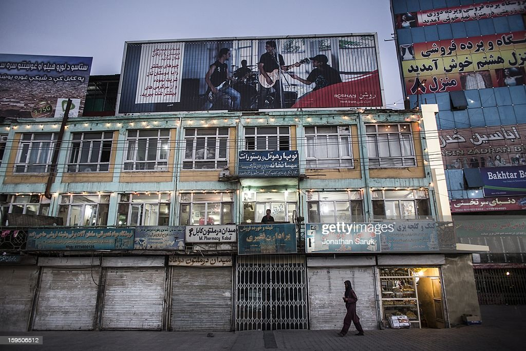 Daily life in the evening in the Kart-e-Se neighborhood of Kabul July 22, 2012 in Kabul, Afghanistan.