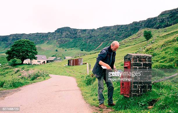 Daily life on The Hebridean Isle Of Eigg which after an historic legal battle was bought by the islanders and the Eigg Heritage Trust in 1997