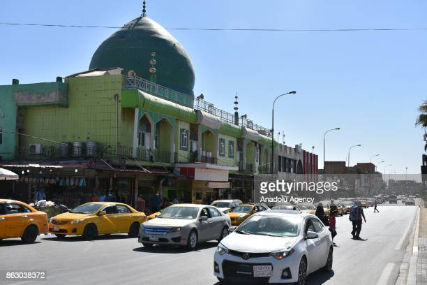 Daily life turn to normal after town center of the city has been secured in Kirkuk Iraq on October 19 2017 Iraqi forces on Monday seized full control...