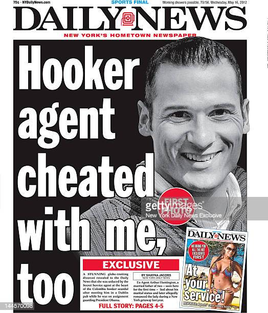 Daily News front page May 16 2012 Headline Hooker agent cheated with me too EXCLUSIVE A stunning globetrotting divorcee revealed to he Daily News...