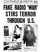 UNS: 30th October 1938 - Orson Welles Radio Broadcast of H.G. Wells',