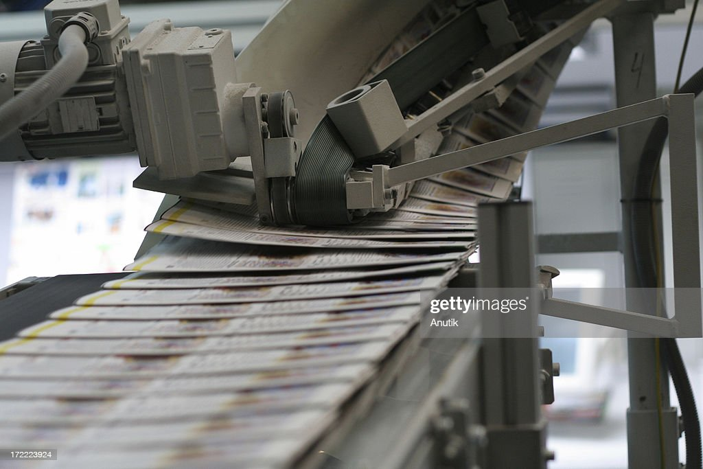 Daily newspapers : Stock Photo