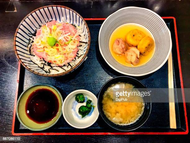 Daily Personal Perspective View, Typical Lunch Meal in Tokyo