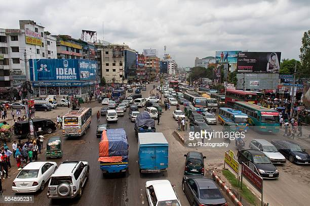 dhaka city traffic jam Dhaka city population, currently estimated at nearly 19 million, is larger than that of 174 countries of the world and traffic jam is undoubtedly the biggest hassle.