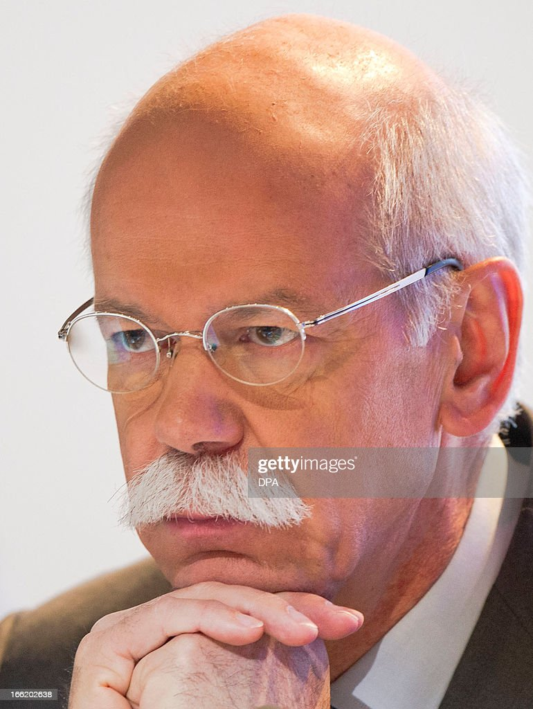 Daimler AG CEO and Chairman of the management board, Dieter Zetsche is pictured during the company's annual general meeting in Berlin, Germany, on April 10, 2013. The chief of German carmaker Daimler said on April 10, 2013 that European demand had been weaker than expected in early 2013 and paved the way for a possible lowering of the company's annual targets.