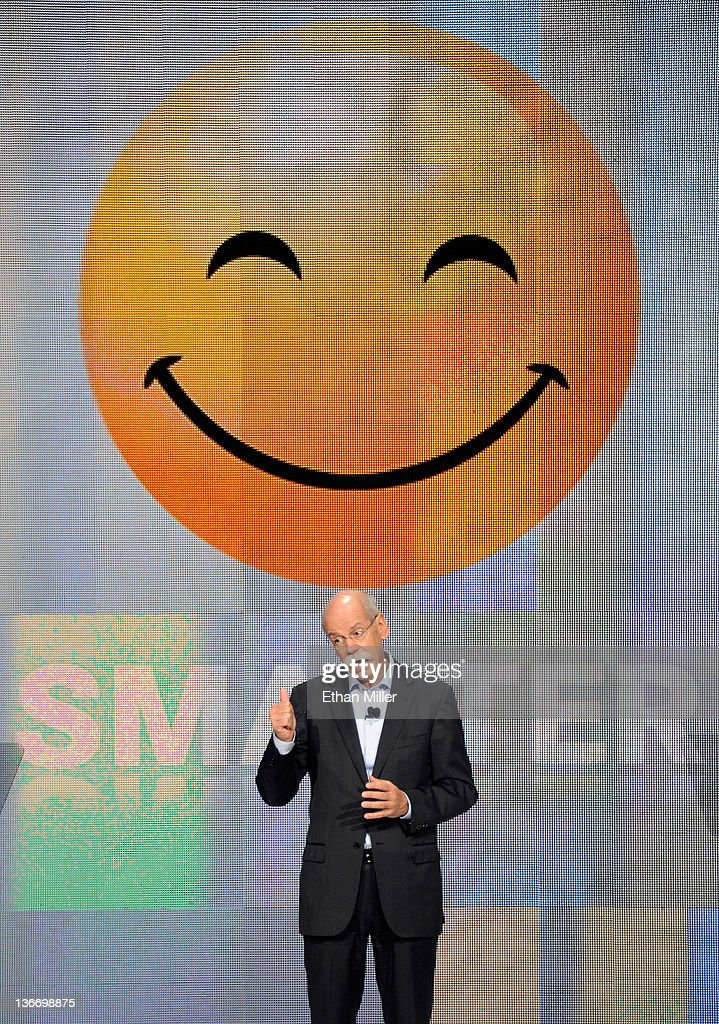 Daimler AG Chairman and head of Mercedes-Benz Cars Dr. Dieter Zetsche speaks during a keynote address at the 2012 International Consumer Electronics Show at the Las Vegas Hotel & Casino January 10, 2012 in Las Vegas, Nevada. CES, the world's largest annual consumer technology trade show, runs through January 13 and is expected to feature 2,700 exhibitors showing off their latest products and services to about 140,000 attendees.