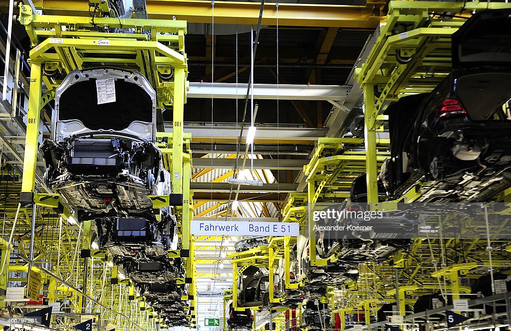A daimler ag mercedes benz c class automobile is pictured for Mercedes benz manufacturing plant in usa
