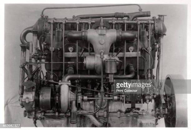 Daimler airship engine of Zeppelin LZ 6 c19091910 In 1909 LZ6 became the first Zeppelin to be used for commercial passenger transport A photograph...
