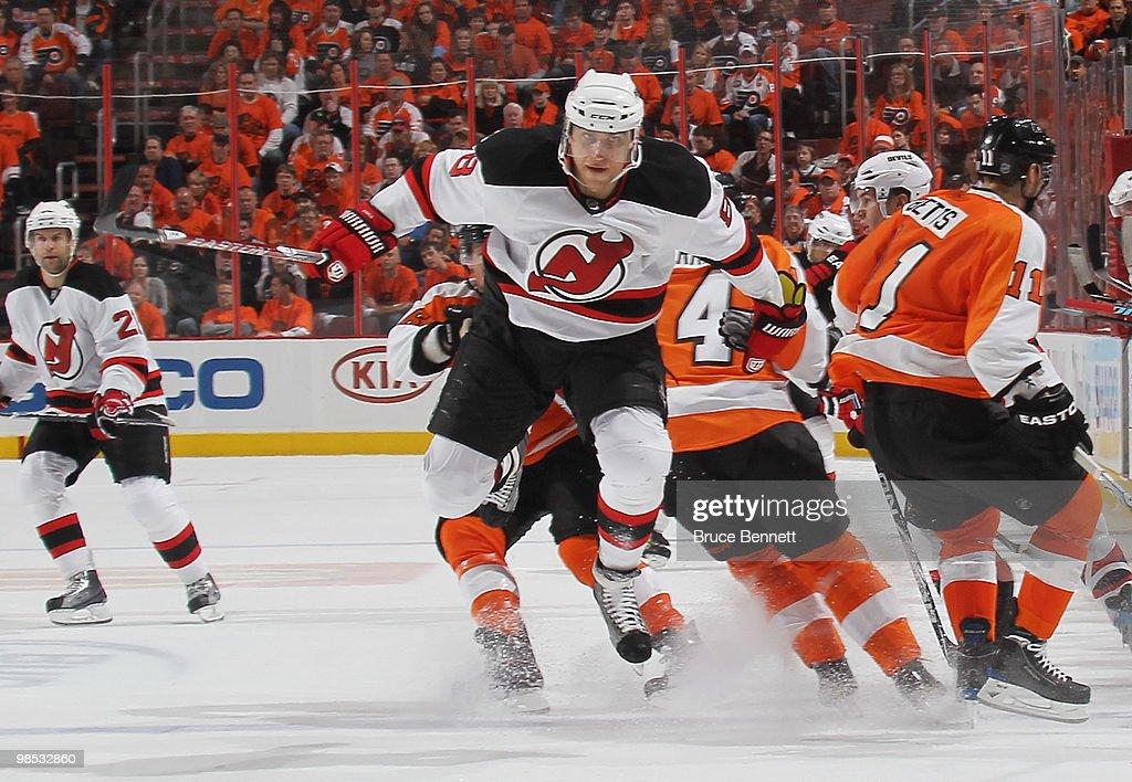 New Jersey Devils v Philadelphia Flyers - Game Three