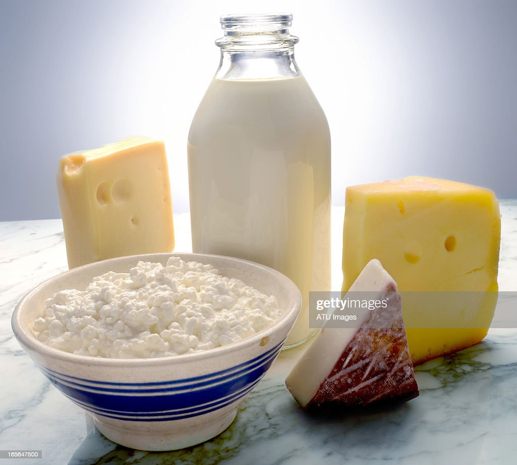 Dairy on marble