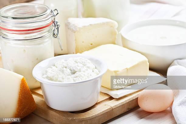 Milchprodukte-Milch, Käse und Joghurt