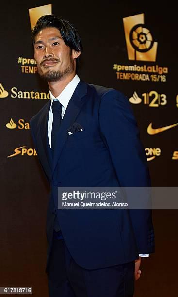 Daisuke Suzuki attends the LFP Soccer Awards Gala 2016 at Palacio de Congresos on October 24 2016 in Valencia Spain