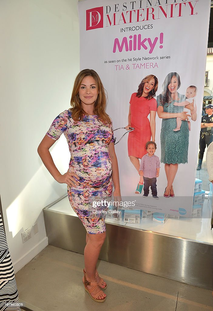 Daisy Betts attends the Milky! launch event at A Pea In The Pod on May 2, 2013 in Beverly Hills, California.