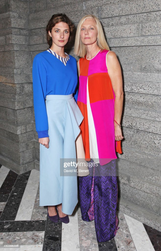Daisy Bevan and Joely Richardson attend the opening of Roksanda on Mount Street on June 10 2014 in London England