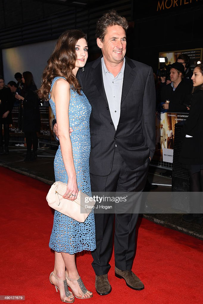 Daisy Bevan and Tim Bevan attend a photocall for 'The Two Faces Of January' at The Corinthia Hotel on May 13 2014 in London England