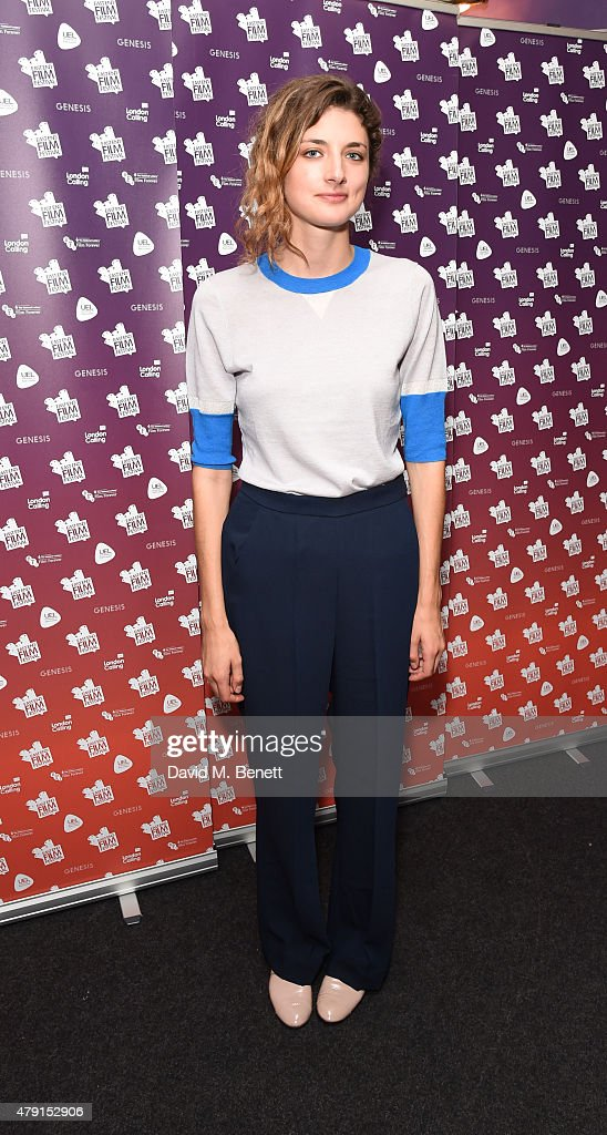 Daisy Bevan attends a screening of 'One Crazy Thing' the opening night film of the East End Film Festival at the Genesis Cinema on July 1 2015 in...