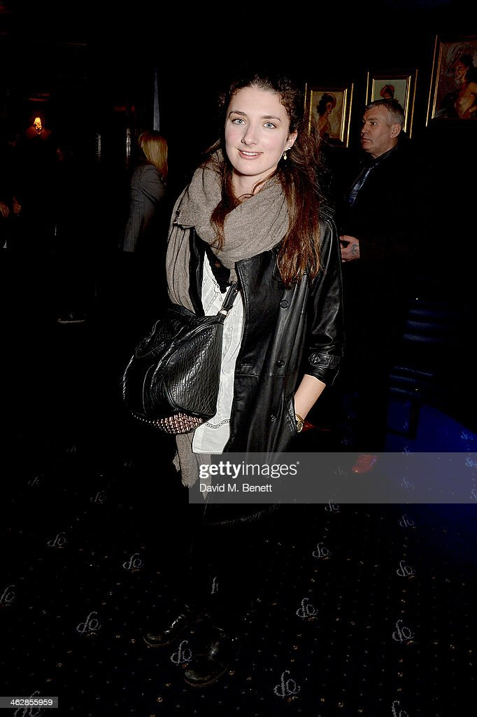 Daisy Bevan attends an after party following the UK premiere of 'Girls Season 3' at Cafe de Paris on January 15 2014 in London England
