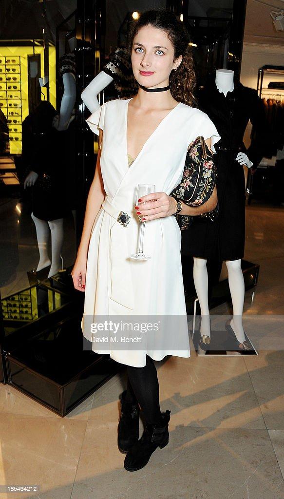 Daisy Bevan attends the BAFTA 'Breakthrough Brits' event at Burberry 121 Regent Street, London on October 21, 2013 in London, United Kingdom.