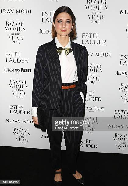 Daisy Bevan attends the Harper's Bazaar Women of the Year Awards 2016 at Claridge's Hotel on October 31 2016 in London England