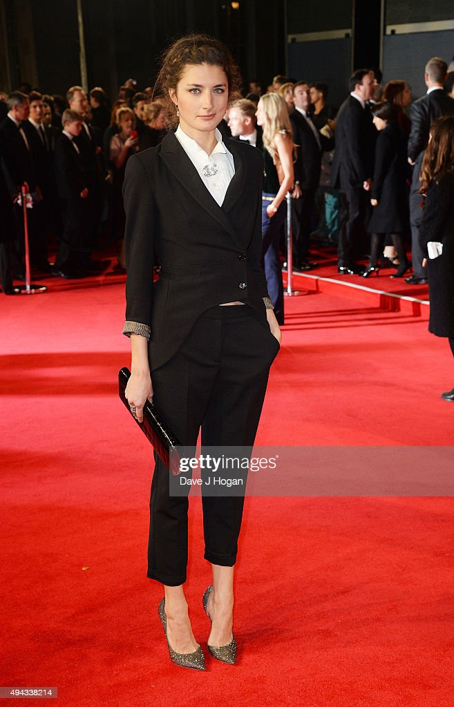 Daisy Bevan attends the Royal World Premiere of 'Spectre' at Royal Albert Hall on October 26 2015 in London England