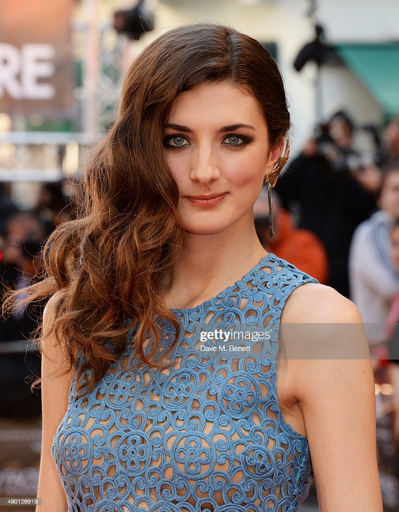 Daisy Bevan attends the UK Premiere of 'The Two Faces Of January' at The Curzon Mayfair on May 13 2014 in London England